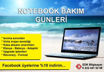 notebook-bakim