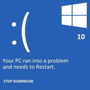 Asus mavi ekran hatası